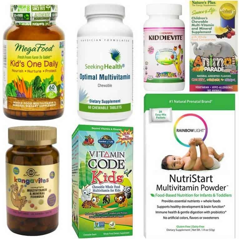 Vitamins for toddlers under 2